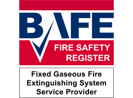 BBC Fire & Security Certified as Fixed Gaseous Fire Extinguishing System Service Provider