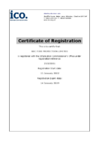 Data Protection Registration