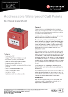 Notifier Manual Alarm Call Point (WP) with Isolator (10-0296-00)
