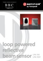 Notifier LPB700 Infra Red Beam Detector with Reflector Plate