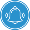 Fire Alarm Bell Icon