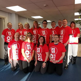 12 hour Cycle Race for Sport Relief